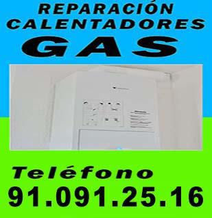 Instalador de gas autorizado Barrio del Pilar