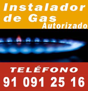 Instalador de gas autorizado Vallecas