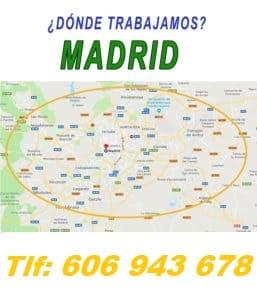 Instalador de gas Madrid calle seminario